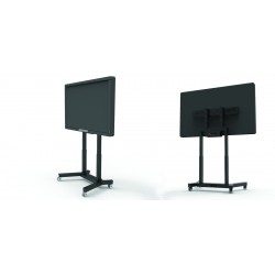 MINI-F 65 y MINI-F 100, Soporte display motorizado con ruedas